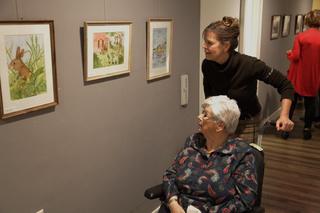 Expositie aquarelclub Mill bezichtigen